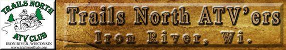 Trails North ATV'ers Logo